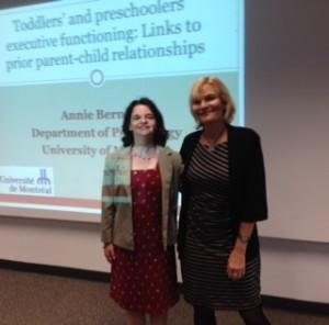 September 12, 2014, Dr. Annie Bernier & Yvonne Bohr2