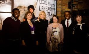 Left to Right: Michel Chikwanine, Irene Backhouse, Dr. Yvonne Bohr, Julia Riddell, Kojo Mintah and Irina Kapler